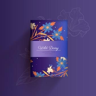 Reklama luksusowej herbaty wild daisy
