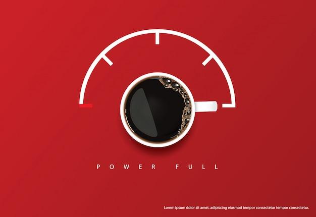 Reklama plakatu kawowego