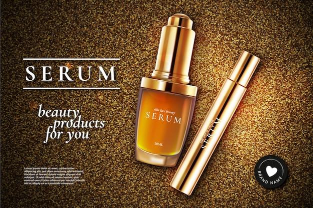Reklama serum kosmetycznego