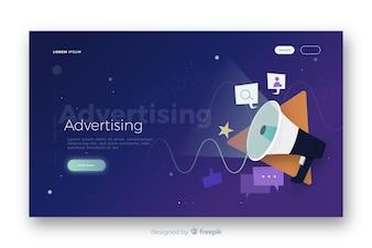 Reklamowa strona docelowa