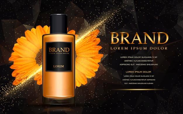 Reklamy produktów kosmetycznych calendula
