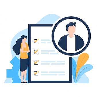 Rekrutuj agenta analizującego kandydatów