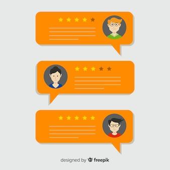 Relacja W Kształcie Bańki Mowy Premium Wektorów