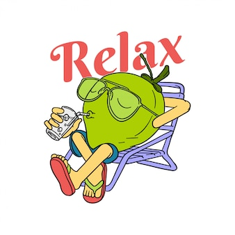 Relax coconut
