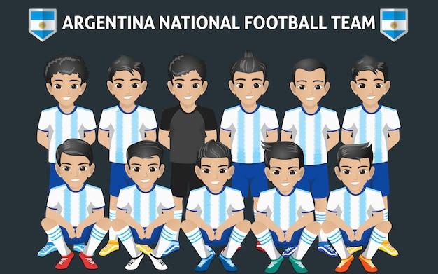 Reprezentacja argerntina w piłce nożnej