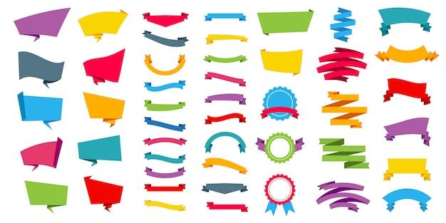 Reprezentowanie tagów banerów naklejki etykiety.