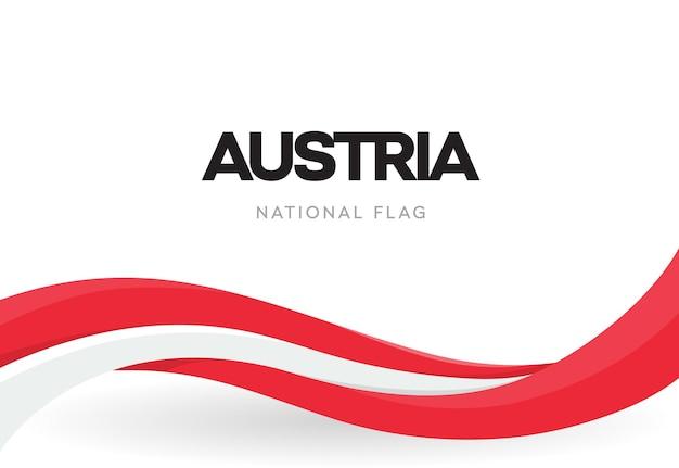 Republika austrii macha flagą