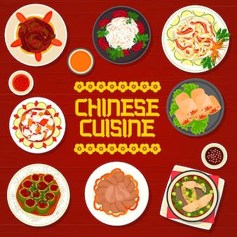 Restauracja z kuchnią chińską z daniami kuchni azjatyckiej.