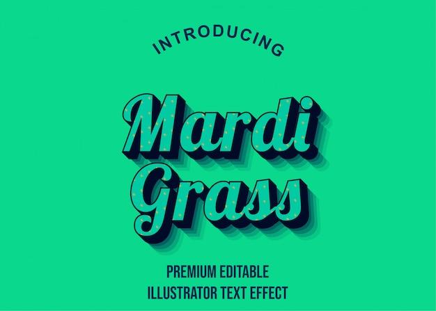 Retro - 3d illustrator styl tekstu efekt czcionki