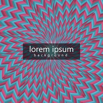 Retro abstrakcyjne tło w efekt spirali