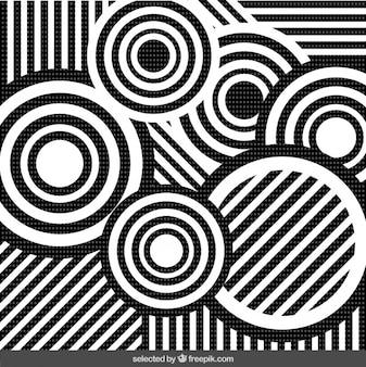 Retro abstrakcyjne tło