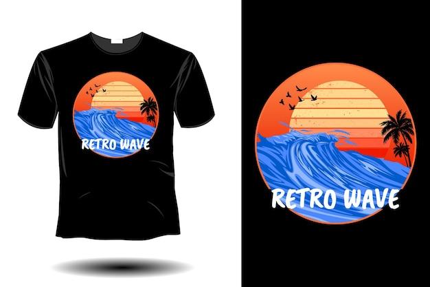 Retro fala retro vintage design