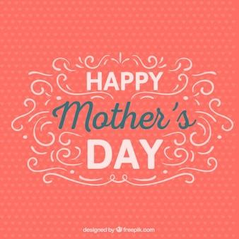 Retro freebie szczęśliwy dzień matki