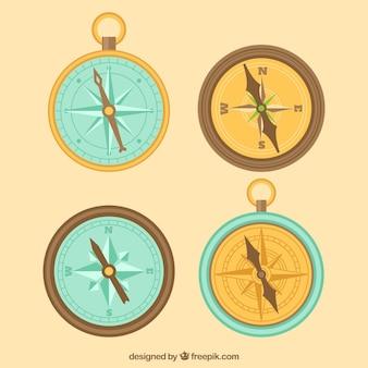 Retro kompas pakiet
