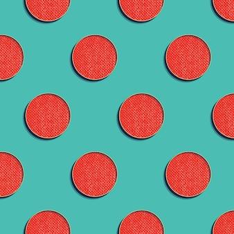 Retro kropki wzór, abstrakcyjne tło geometryczne w stylu lat 80-tych, 90-tych. geometryczna prosta ilustracja