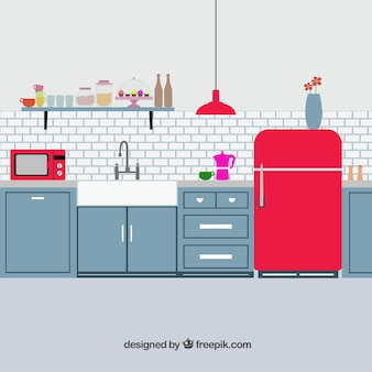Retro kuchnia