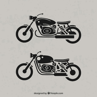 Retro motocykle