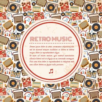Retro plakat muzyczny