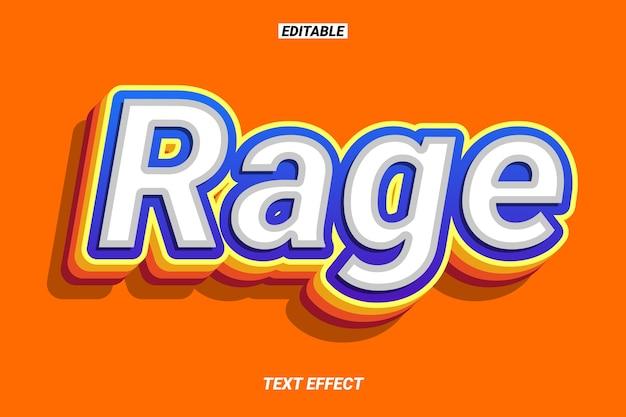 Retro pop pogrubiony efekt tekstowy