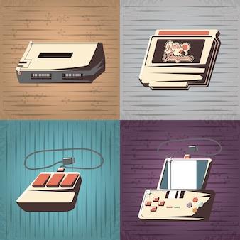 Retro projekt gier wideo