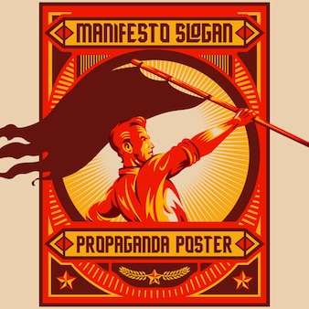 Retro proponowane plakaty z remonstrancji