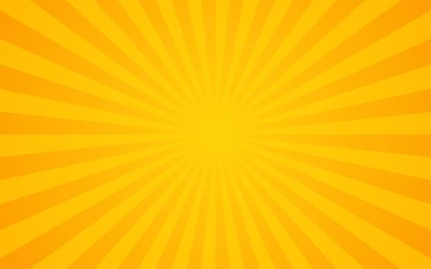 Retro sunburst tło.