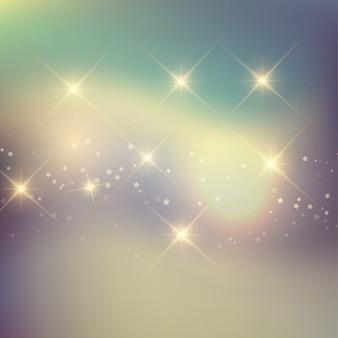 Retro tła z gwiazdami