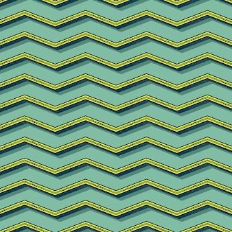 Retro wzór zygzak. streszczenie tło geometryczne w stylu lat 80-tych, 90-tych. geometryczna prosta ilustracja