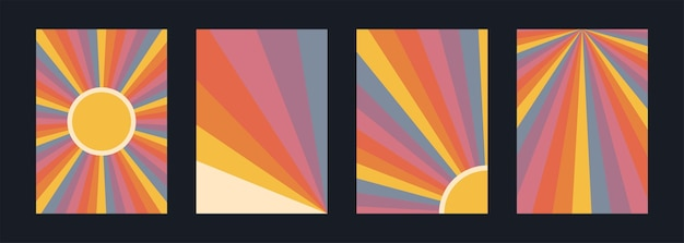 Retrozachód słońca