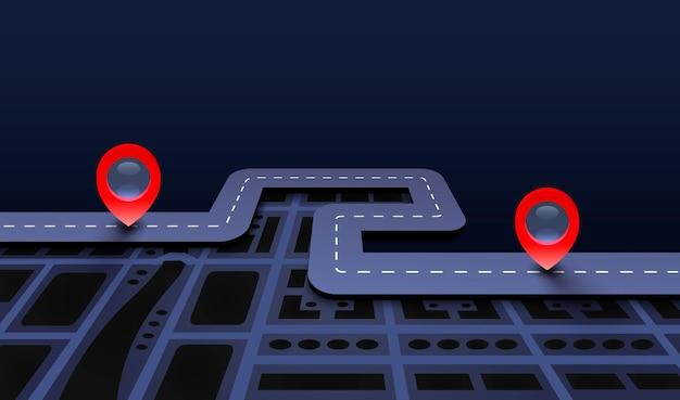 Road trip taxi, utoruj trasę, informacje o lokalizacji.