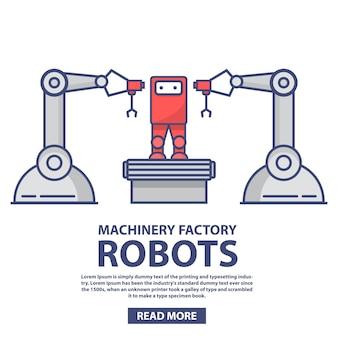 Robot do montażu zabawek dla niemowląt.