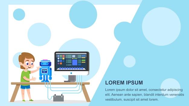 Robot Tworzący Kurs Premium Wektorów