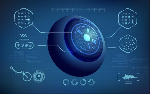 Robotic eye