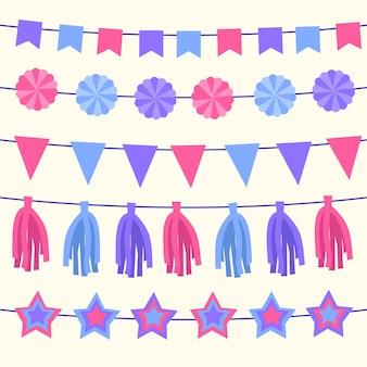 Rocznicowe dekoracje urodzinowe