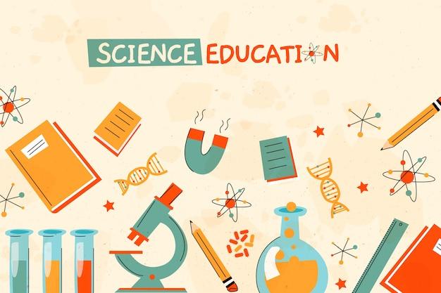 Rocznik nauki edukaci tło
