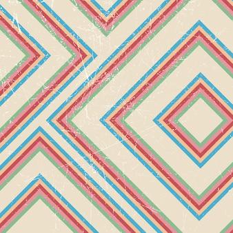 Rocznika grunge projekta retro abstrakcjonistyczny tło