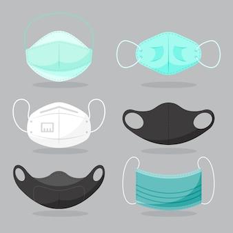 Rodzaj koncepcji masek na twarz
