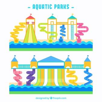 Rodzaj parków wodnych
