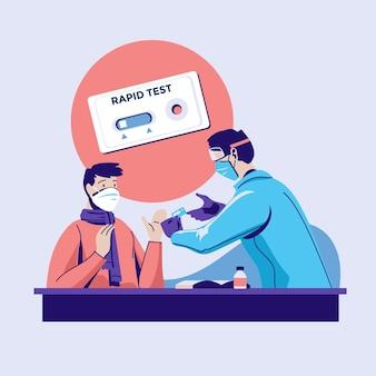 Rodzaj testu koronawirusa
