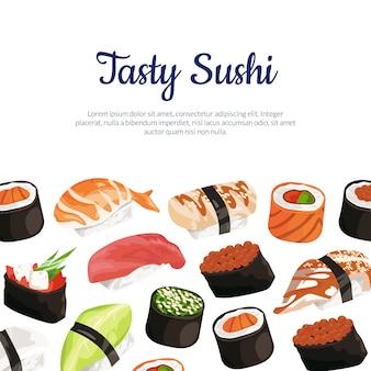 Rodzaje sushi
