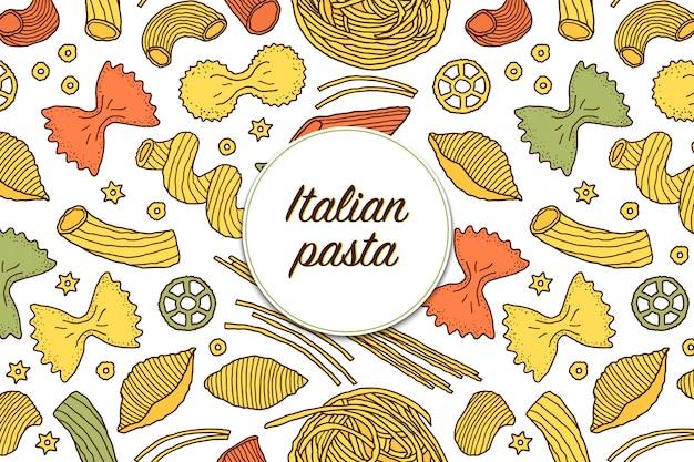 Rodzaje włoskich makaronów