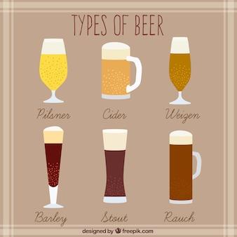 Rodzaje wyciągnąć rękę piwa