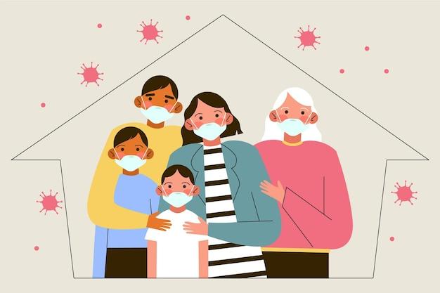 Rodzina chroniona przed wirusem