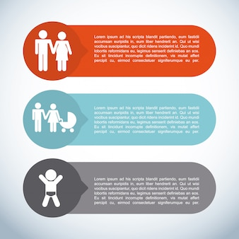 Rodzina infographic