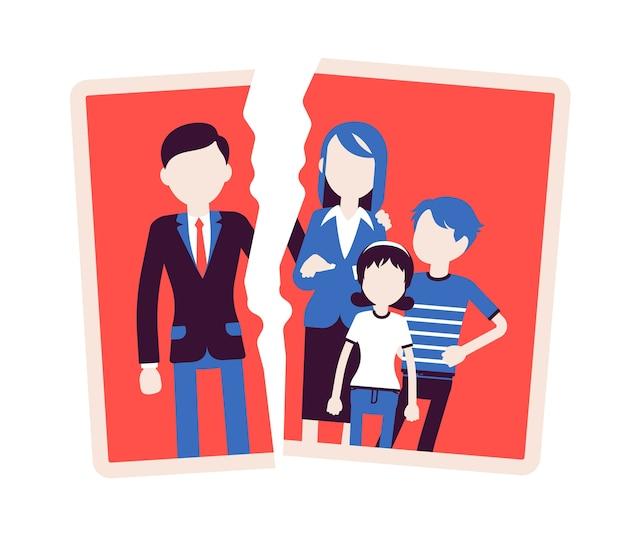 Rodzina utrata dobrych relacji