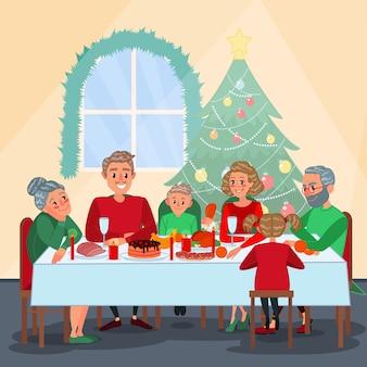Rodzinna kolacja wigilijna