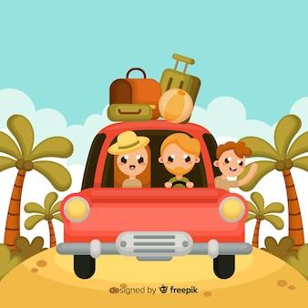 Rodzinne tło podróży