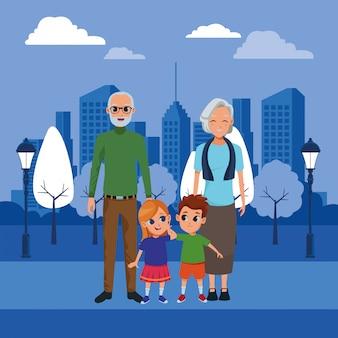 Rodzinni dziadkowie i bajki wnuków