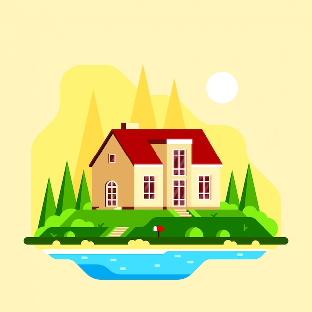 Rodzinny dom podmiejski