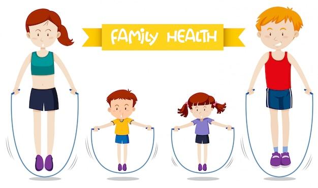 Rodzinny trening razem